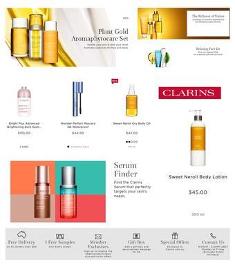 Clarins catalogue (valid until 28-06)