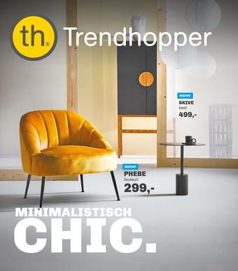 Trendhopper reclame folder (geldig t/m 28-06)