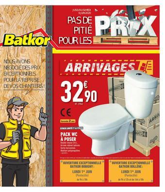 Batkor catalogue publicitaire (valable jusqu'au 06-06)