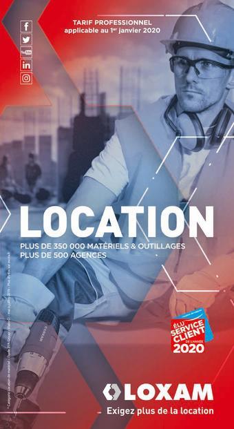 Loxam catalogue publicitaire (valable jusqu'au 31-12)