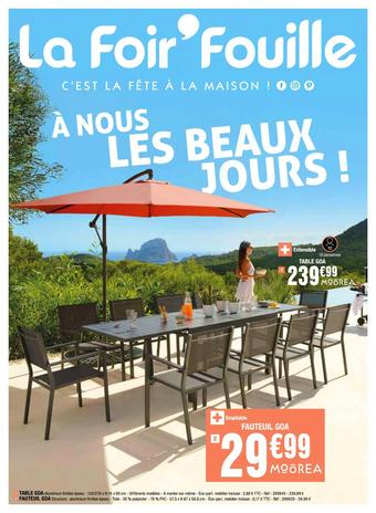 La Foir'Fouille catalogue publicitaire (valable jusqu'au 01-06)