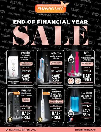 Shaver Shop catalogue (valid until 30-06)