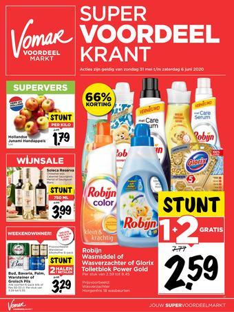 Vomar reclame folder (geldig t/m 06-06)