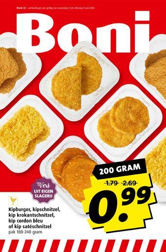 Boni reclame folder (geldig t/m 09-06)