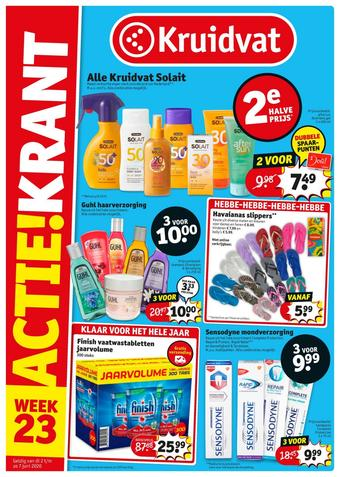 Kruidvat reclame folder (geldig t/m 07-06)