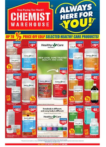 Chemist Warehouse catalogue (valid until 11-06)