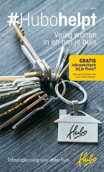 Hubo XL reclame folder (geldig t/m 13-09)