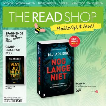 The Read Shop reclame folder (geldig t/m 21-06)
