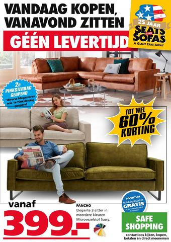 Seats and Sofas reclame folder (geldig t/m 07-06)