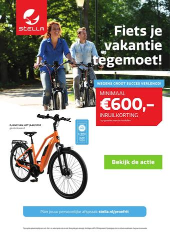 Stella fietsen reclame folder (geldig t/m 07-06)