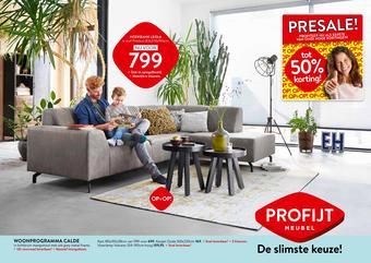 Profijt Meubel reclame folder (geldig t/m 28-06)