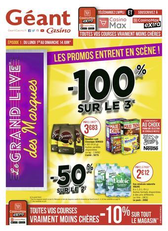 Géant Casino catalogue publicitaire (valable jusqu'au 14-06)