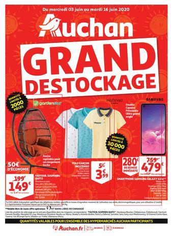 Auchan catalogue publicitaire (valable jusqu'au 16-06)