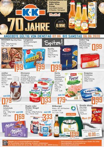 Klaas und Kock Prospekt (bis einschl. 06-06)