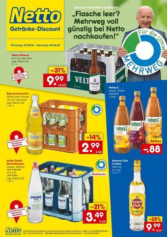 Netto Getränke Discount Prospekt (bis einschl. 06-06)