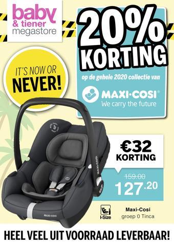 Baby & Tiener reclame folder (geldig t/m 06-06)