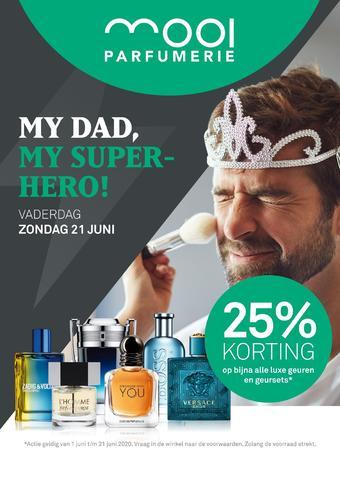 Mooi parfumerie reclame folder (geldig t/m 21-06)