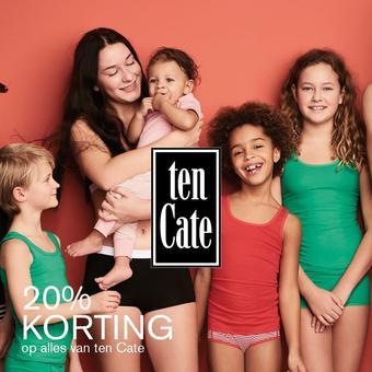 ten Cate reclame folder (geldig t/m 16-08)