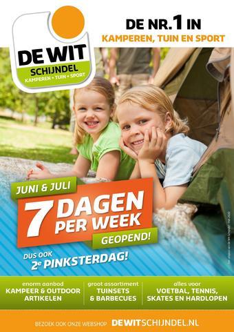 De Wit Schijndel reclame folder (geldig t/m 30-06)