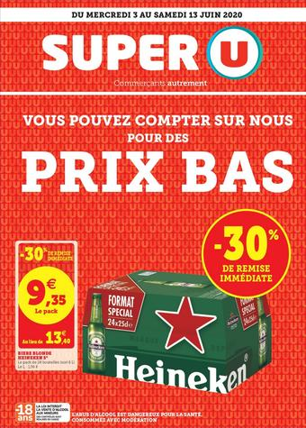 Super U catalogue publicitaire (valable jusqu'au 13-06)