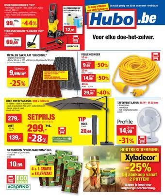 Hubo reclame folder (geldig t/m 14-06)