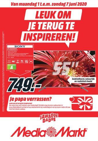 MediaMarkt reclame folder (geldig t/m 07-06)