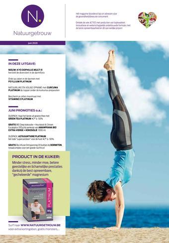 Mannavita reclame folder (geldig t/m 22-06)