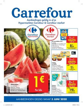 Carrefour reclame folder (geldig t/m 15-06)