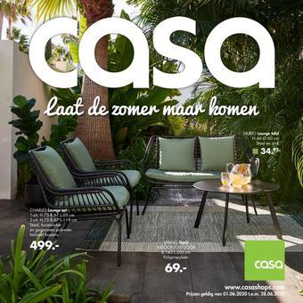 Casa reclame folder (geldig t/m 28-06)