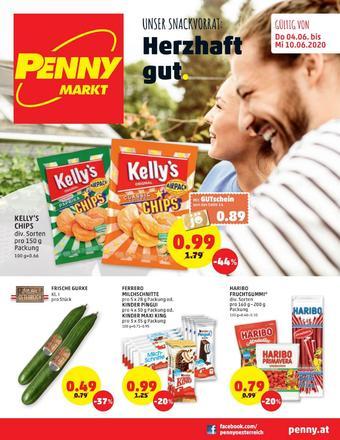 PENNY Werbeflugblatt (bis einschl. 08-06)