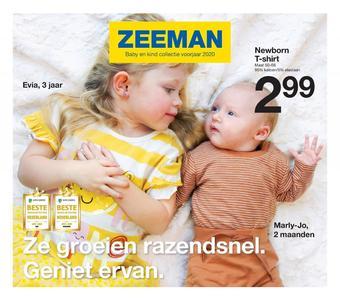 Zeeman reclame folder (geldig t/m 31-08)