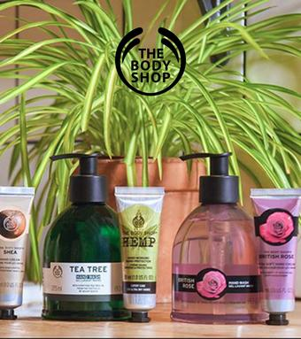 The Body Shop catalogue publicitaire (valable jusqu'au 14-07)