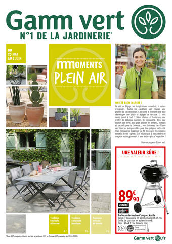 Gamm vert catalogue publicitaire (valable jusqu'au 07-06)