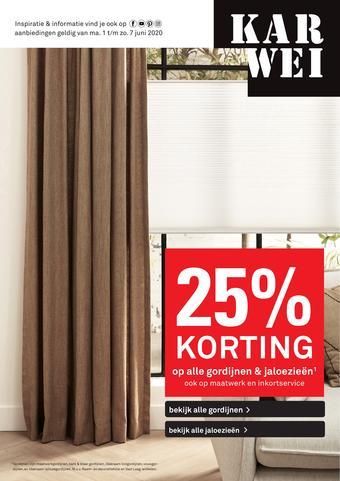 Karwei reclame folder (geldig t/m 07-06)