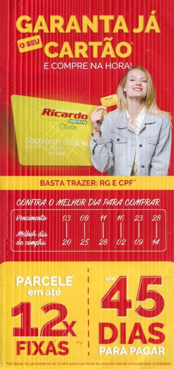 Ricardo Eletro catálogo promocional (válido de 10 até 17 08-06)