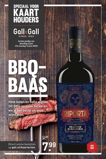Gall & Gall reclame folder (geldig t/m 14-06)