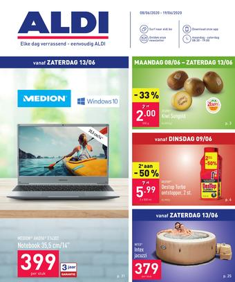 ALDI reclame folder (geldig t/m 19-06)