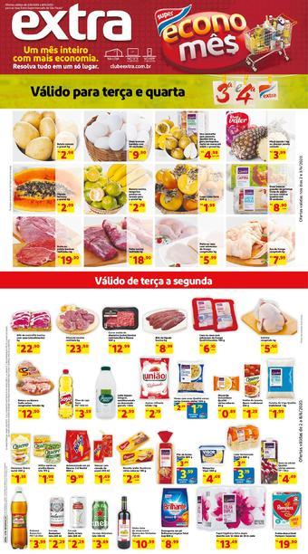 Extra Supermercado catálogo promocional (válido de 10 até 17 08-06)
