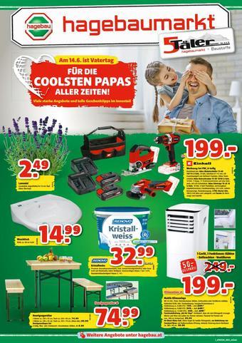 Hagebau Werbeflugblatt (bis einschl. 13-06)