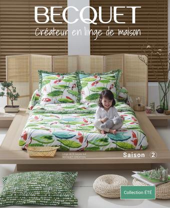Becquet catalogue publicitaire (valable jusqu'au 31-08)