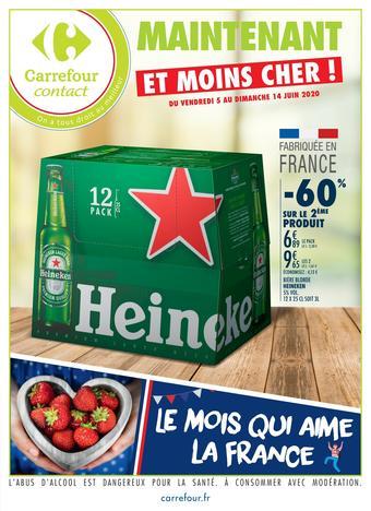 Carrefour Contact catalogue publicitaire (valable jusqu'au 14-06)