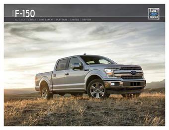Ford reclame folder (geldig t/m 31-12)