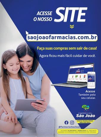 Farmácia São João catálogo promocional (válido de 10 até 17 30-06)