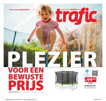 Trafic reclame folder (geldig t/m 07-06)