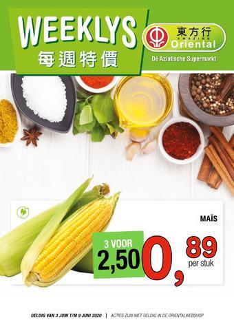 Amazing Oriëntal reclame folder (geldig t/m 09-06)