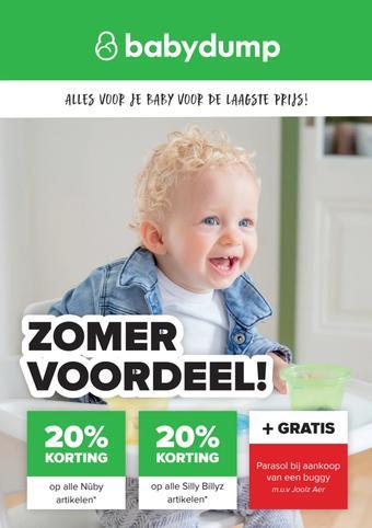Baby-Dump reclame folder (geldig t/m 27-06)