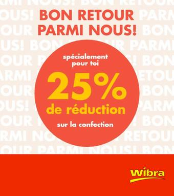 Wibra reclame folder (geldig t/m 30-06)