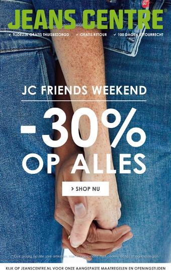 Jeans Centre reclame folder (geldig t/m 07-06)