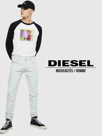 Diesel catalogue publicitaire (valable jusqu'au 28-07)