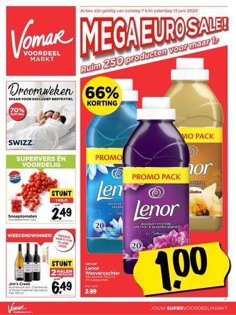 Vomar reclame folder (geldig t/m 13-06)